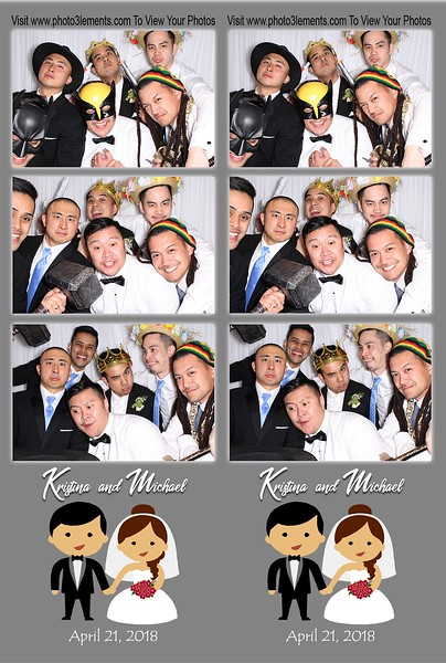 Kristina & Michael's Wedding 4-21-18