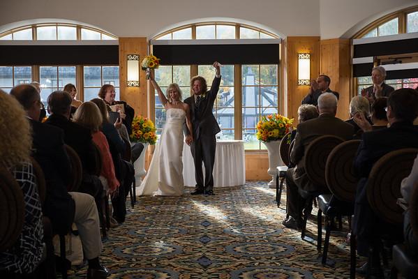 Barb + Mark ~ Boyne Mountain Resort Wedding Photography