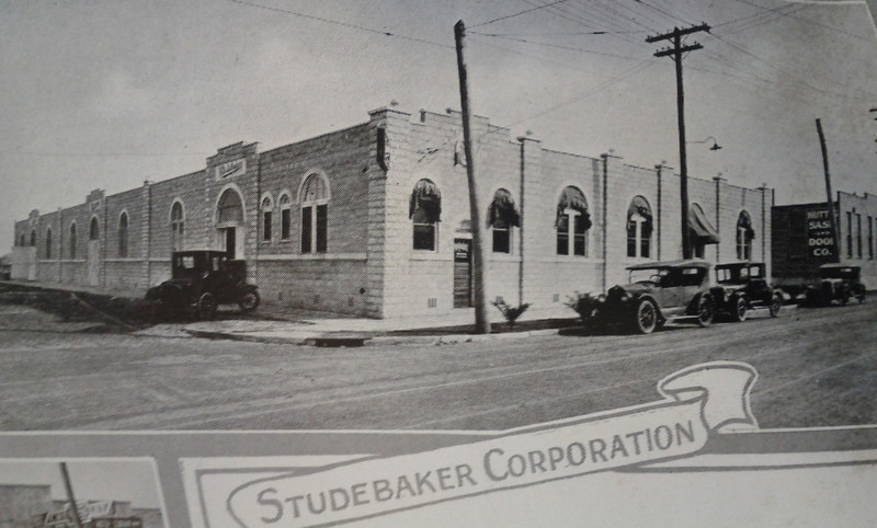 The Studebaker Corporation in 1926. Courtesy of the Telfair Stockton & Company industrial advertisement.