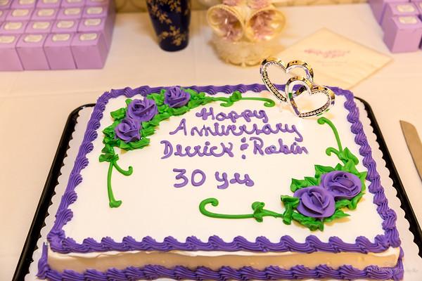 Derrick  & Robin Miliner's 30th Anniversary