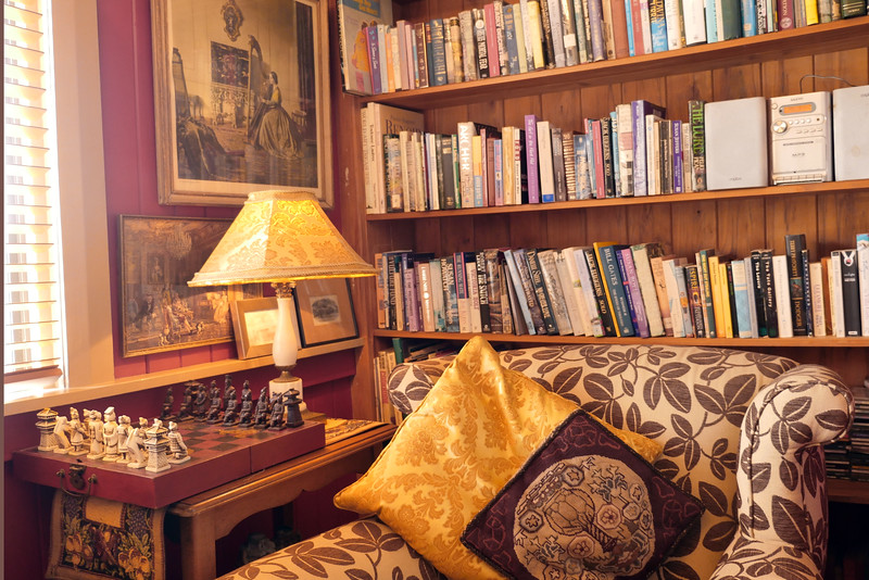 Nice Hotel - Library