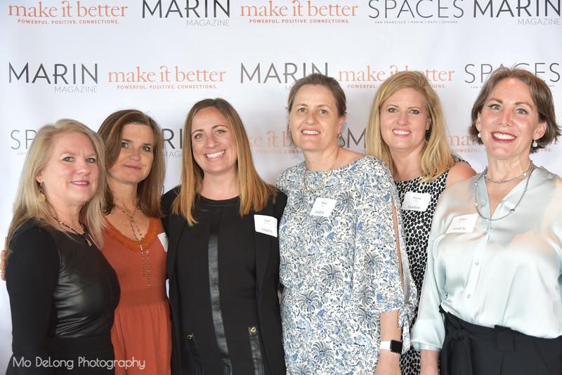 Dana Horner, Mimi Towle, Leah Bronson, Maeve Walsh, Donna Glass and Debra Hershon
