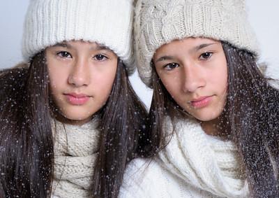 Lara and Luna Srithong 2018 shoot 2