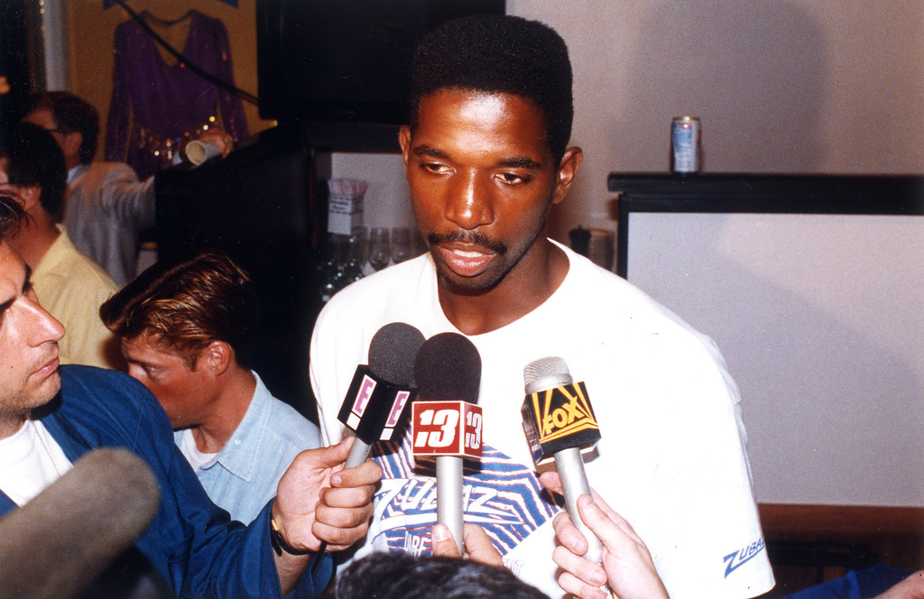 . 1992: A.C. Green, shown after Magic\'s original retirement.  Daily News file photo