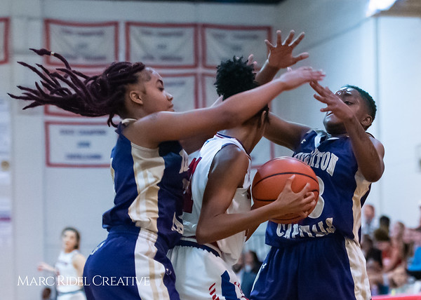Broughton girls varsity basketball vs Sanderson. February 12, 2019. 750_6058