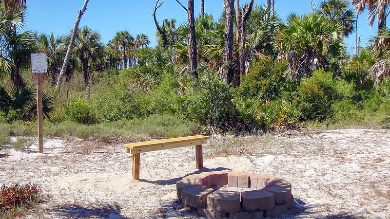 Apalachicola Reserve campsite