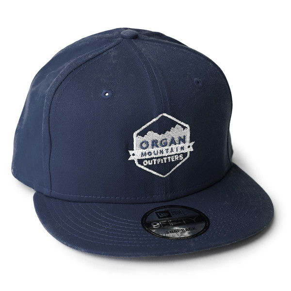 Outdoor Apparel - Organ Mountain Outfitters - Hat - New Era Classic Flat Bill Snapback Cap - Navy.jpg