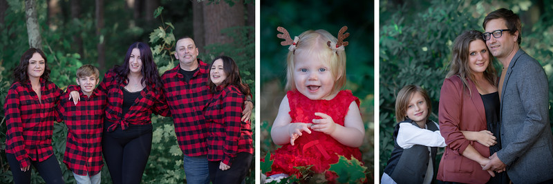 Rich Woodland Holiday Mini Family Sessions