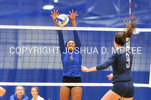Volleyball v Middlebury 10-27-17