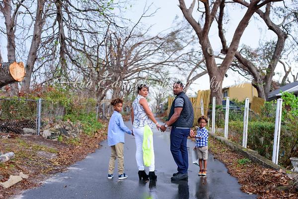 The Howard family  |  The Cove.  Panama City post Michael.