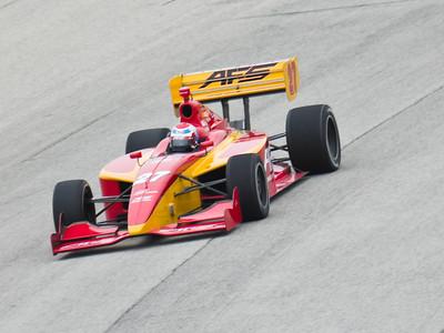 2008 Indy Lights Milwaukee Mile Test (5-9-2008)