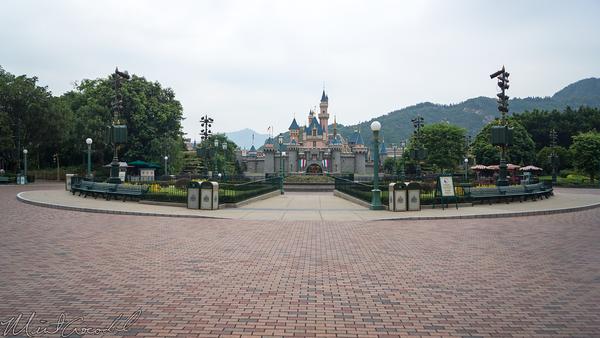 Disneyland Resort, Hong Kong Disneyland, Main Street USA, Sleeping Beauty Castle, Sleeping, Beauty, Castle