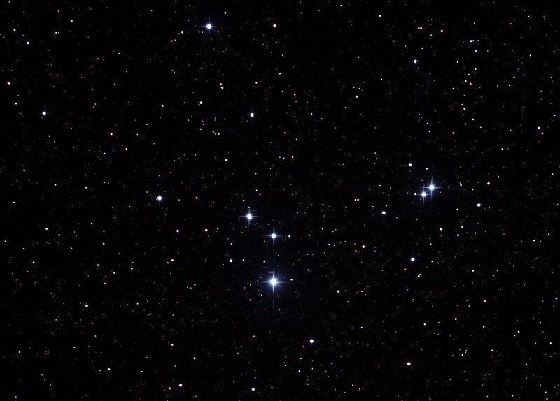 Caldwell 85 - IC2391 - Omicron Velorum Cluster in Vela - 8/2/2013 (Processed Cropped stack)