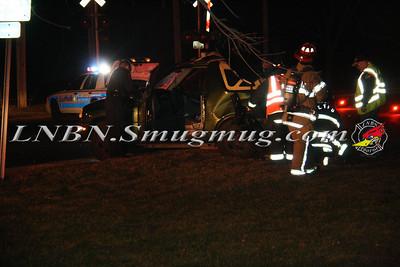 East Farmingdale Fire Co.Overturn Auto w/ traumatic injury Wellwood Ave & Long Island Ave 1-24-12