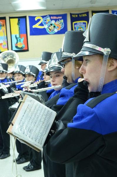WHS BAND visits WLMS