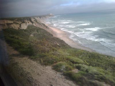 Landscape: California seaside