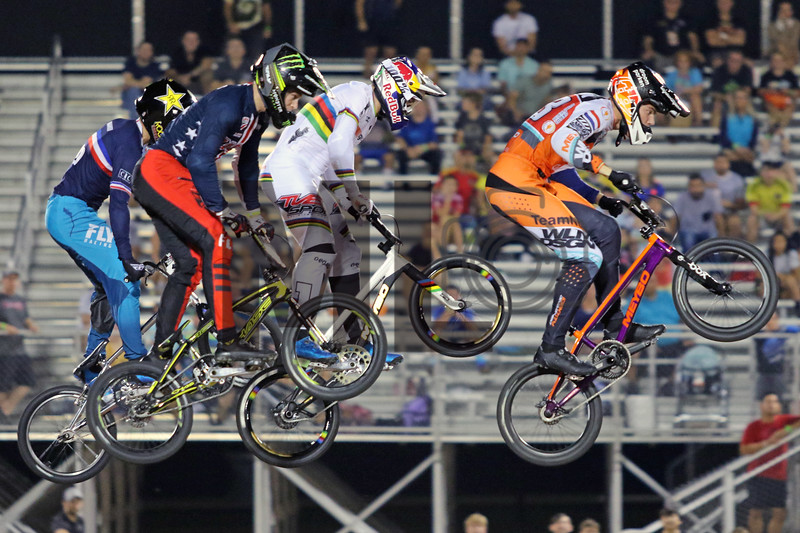 UCI BMX Supercross World Cup Round 8 at Rock Hill, S.C., on Saturday, Sept. 14, 2019.