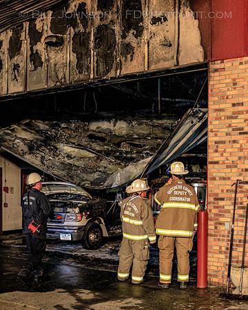 Structure fire - Tivoli Fire Station - #2 Tivoli Commons - 7/5/2019