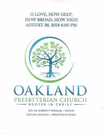 OPC Hymn Festival 8/27/18