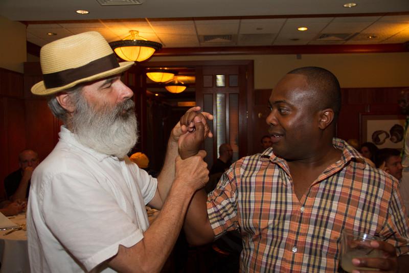 Mark and Fabian squabble