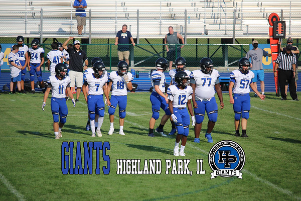 20210827 HPHS Frosh/Soph Football - Eagles vs Giants