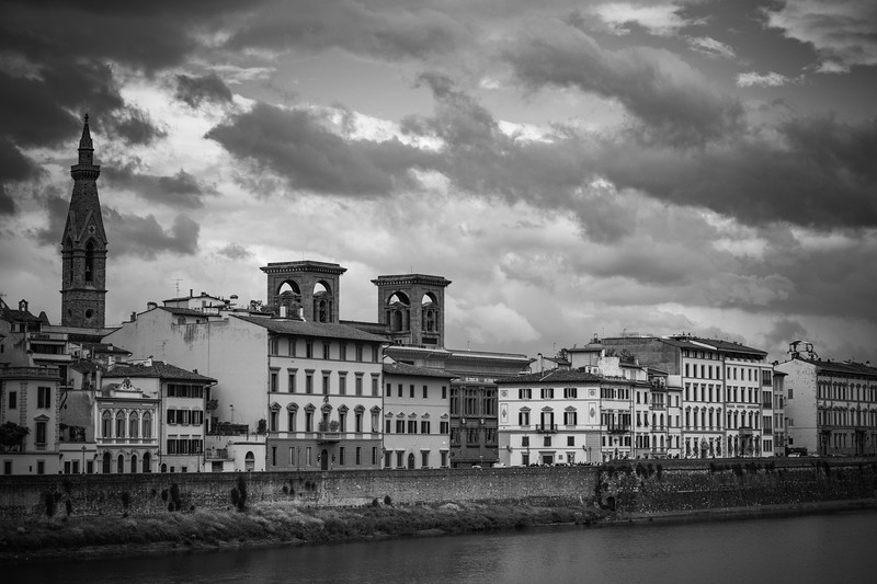 Along the River Arno, Florence, Italy