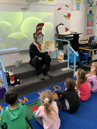 Read Across America  and Visit from Cat in the Hat!