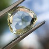 3.46ct Portrait Rose Cut Trapezoid Diamond GIA UV VVS2 33