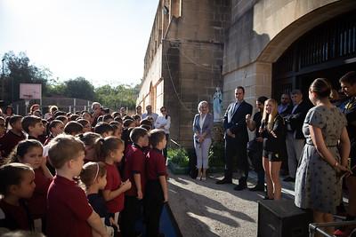 Athletes School Visit - St Margret College