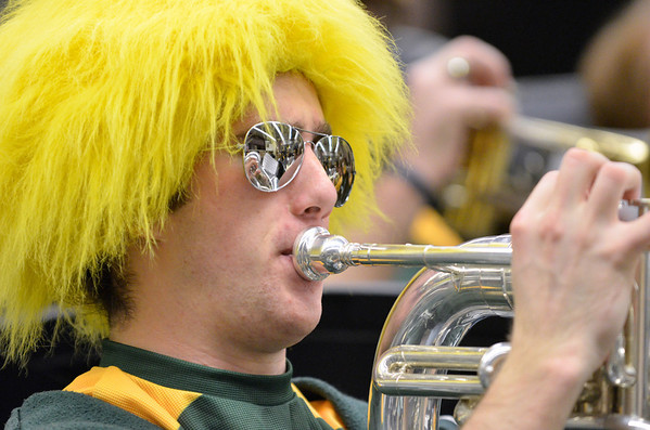 Mustang C Band | Cal Poly Basketball Vs Sac State