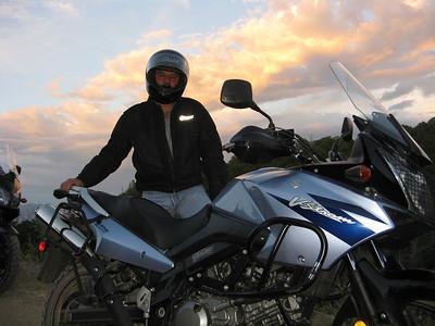 Las Huertas Can.-Cedar Crest Evening AT Ride  8-5-09