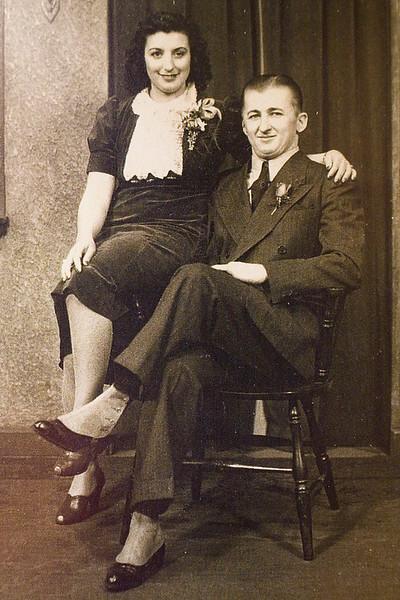 Grandma and Grandpap Gergo