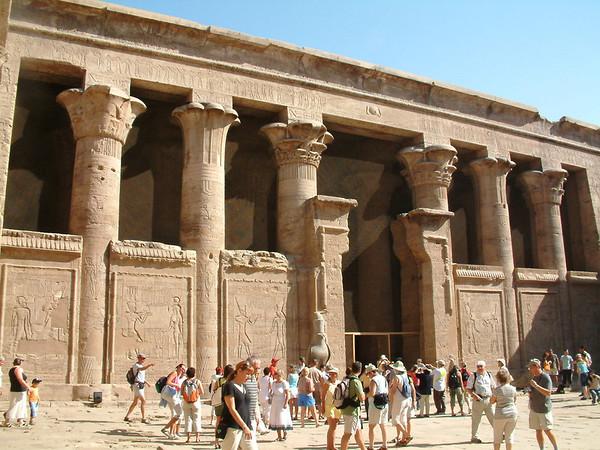 Temple of Horus in Edfu