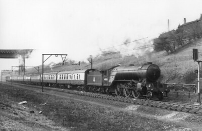 LNER steam on the former G.C. Woodhead route 1954