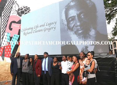 Dick Gregory Honored - Parade in Washington DC