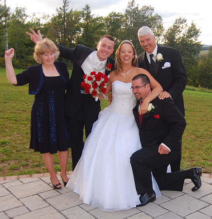 First Look, Family Portraits, Bridal Party, Reception