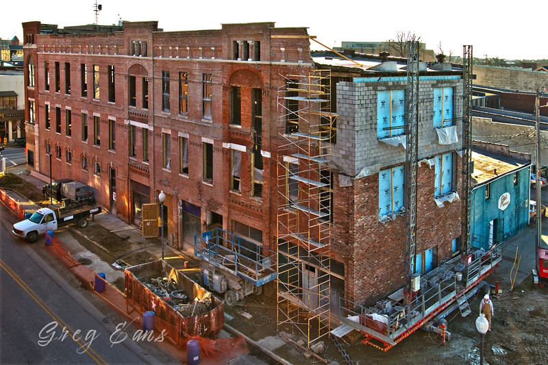 Bates Building renovation.  Owensboro, KY.