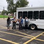 delivery of homecoming donations and mcintyre love . 10.2.19