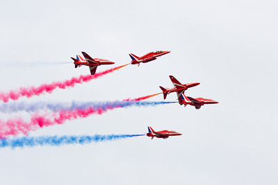 2012 Red Arrows at Whitby