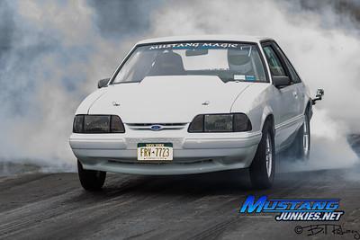 Mustang Junkies.net Atco Track Rental 10/15/12