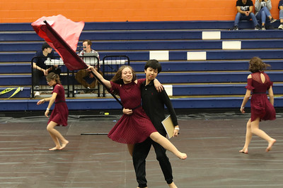Winter Guard Competition @ Wakeland HS - 02.02.2019
