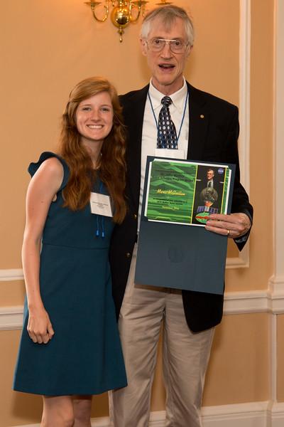 Maria McQuillan -- 2016 Dr. John Mather Nobel Scholars Program Award  luncheon, held at the Hopkins Club, Johns Hopkins University, Baltimore, MD, July 26, 2016.