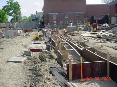 '62 Center construction