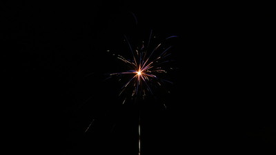 2014/15 - Fireworks (New Year's Eve)