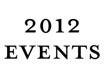 2012 Events