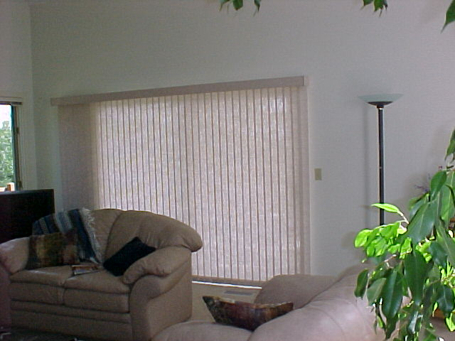 Vertical Blind with valance