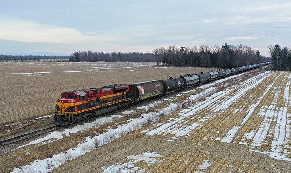 Canadian Pacific 650 (DPU), Lacolle, Quebec, December 26 2019.