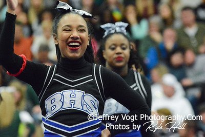 Burgundy Division at Paint Branch HS Cheerleading Competition 1-24-2015
