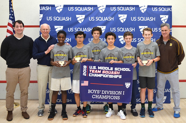 2018 U.S. Middle School Team Squash Championships