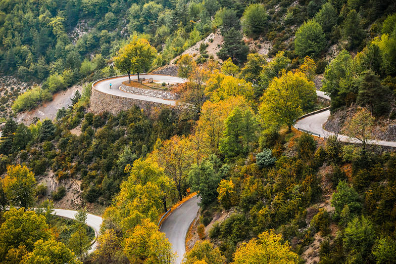 Near the Col de Turini, Maritime Alps, France